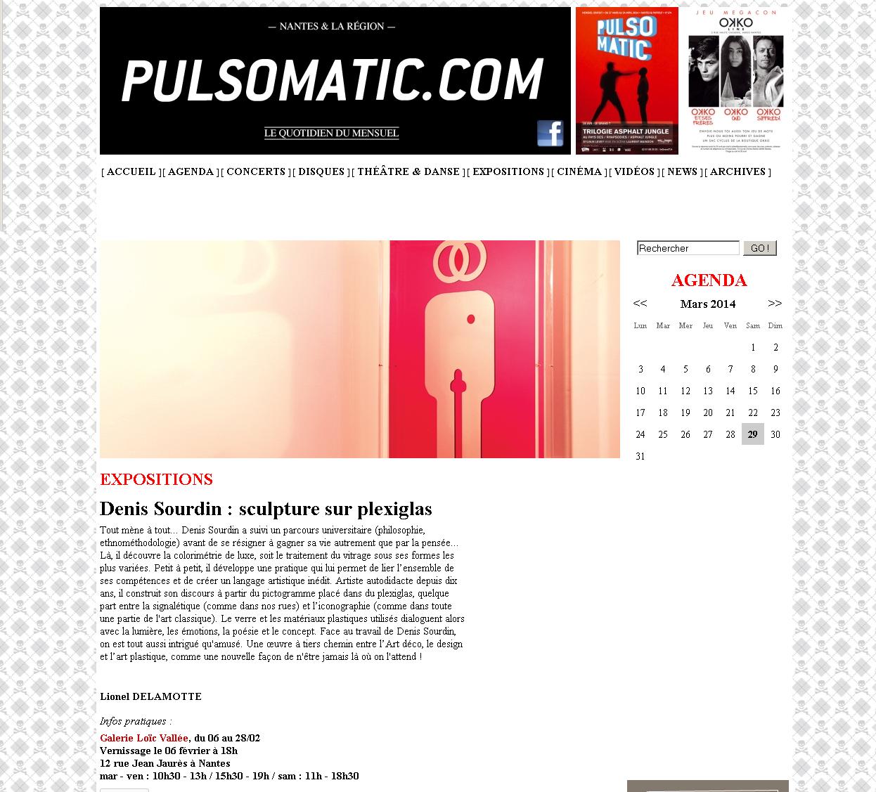 ARTICLE PULSO D SOURDIN 2014